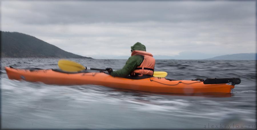 Норвегия, каяки