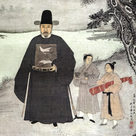 portrait of jiang shunfu