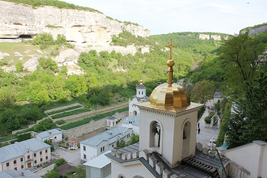 крым, Свято-Успенский мужской монастырь, aksanova.lj.ru, фотография, монастырь в скале,  IMG_6031