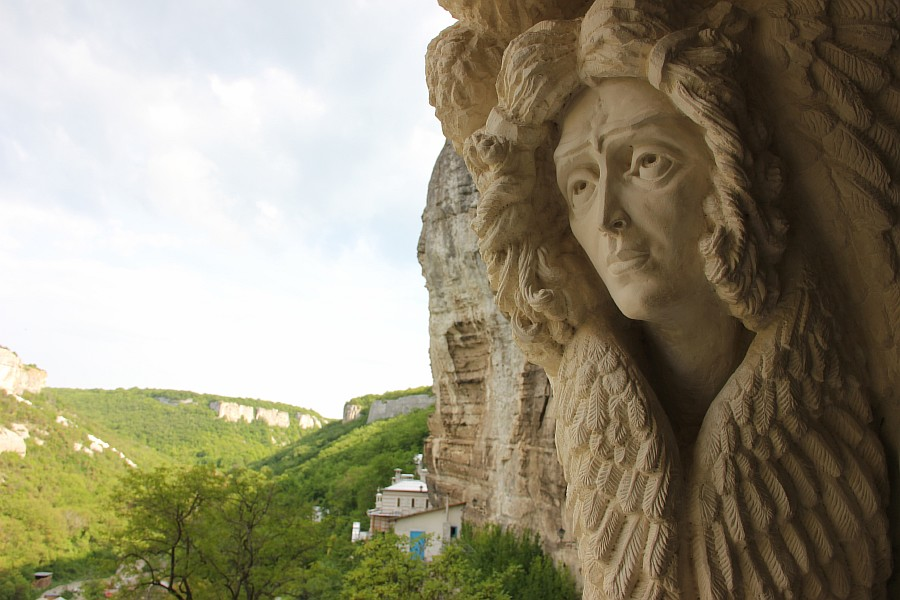 крым, Свято-Успенский мужской монастырь, aksanova.lj.ru, фотография, монастырь в скале,  IMG_6042