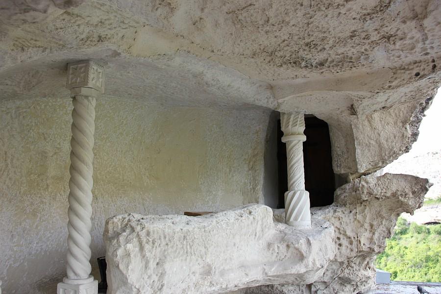 крым, Свято-Успенский мужской монастырь, aksanova.lj.ru, фотография, монастырь в скале,  IMG_6043