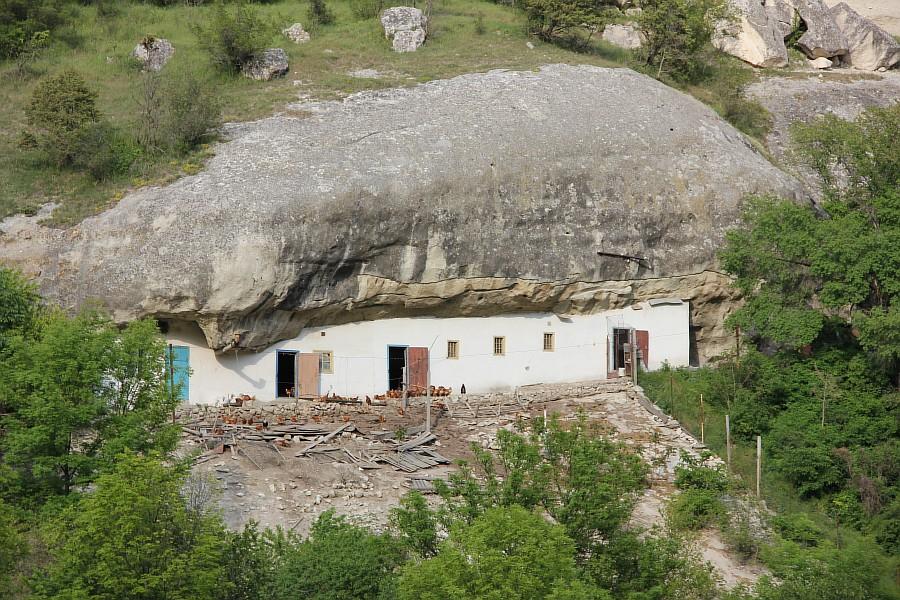 крым, Свято-Успенский мужской монастырь, aksanova.lj.ru, фотография, монастырь в скале,  IMG_6081