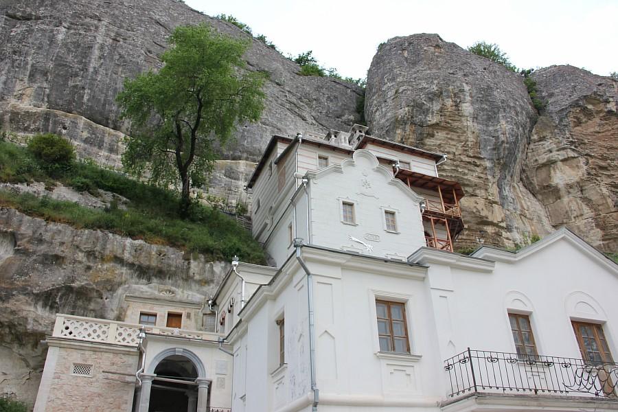 крым, Свято-Успенский мужской монастырь, aksanova.lj.ru, фотография, монастырь в скале,  IMG_6084