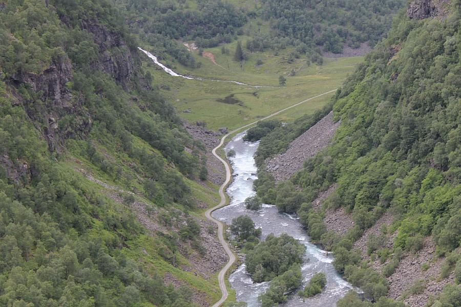 Норвегия, Флом, блогтур, путешествия, природа, водопад, aksanova.livejournal.com, Фломская железная дорога,  IMG_6751