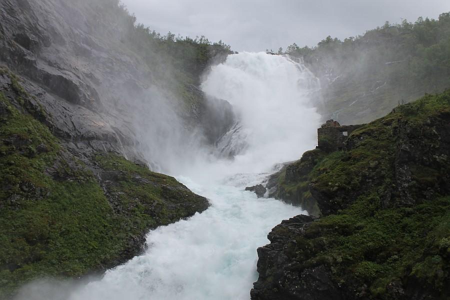 Норвегия, Флом, блогтур, путешествия, природа, водопад, aksanova.livejournal.com, Фломская железная дорога,  IMG_6769
