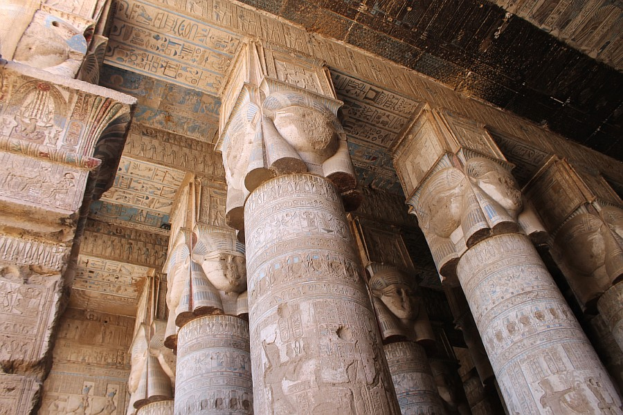 Луксор, Дендера, храм богини Хатхор, путешествия, фотография, Египет, достопримечательности, aksanova.livejournal.com,  IMG_1408