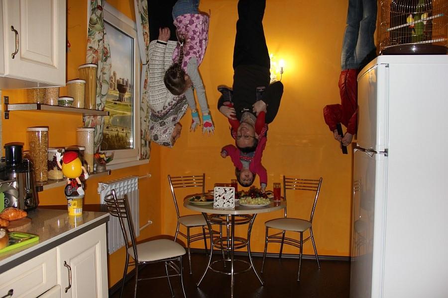 Дом вверх дном, Зеркальный лабиринт, Лабиринт страха, Казань, aksanova.livejournal.com,  IMG_5112