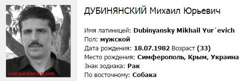 -_______________Дубинянский