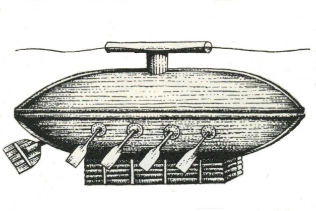 -__ __ аа Козацький подводнй човен