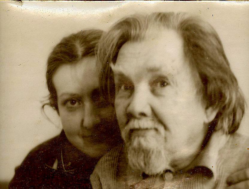 Петров и Саша, около 1980 го