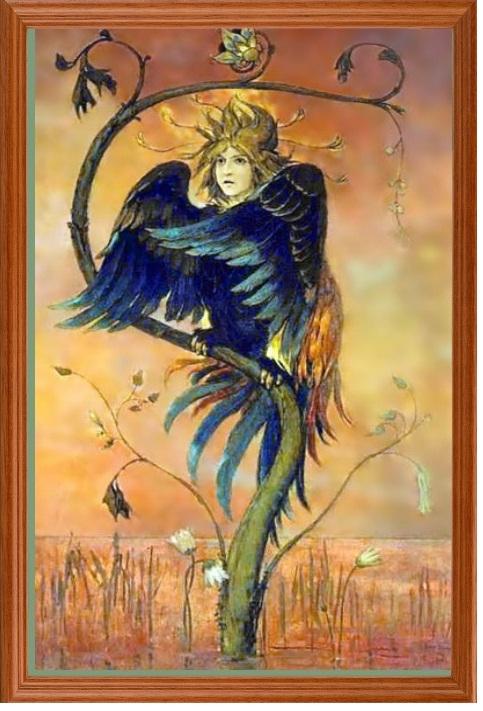 Гамаюн, птица вещая. В.М.Васнецов 1897 год