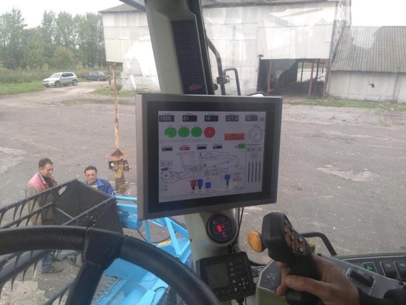 Рисунок 3 - Вид на интерактивную панель управления тачскрин