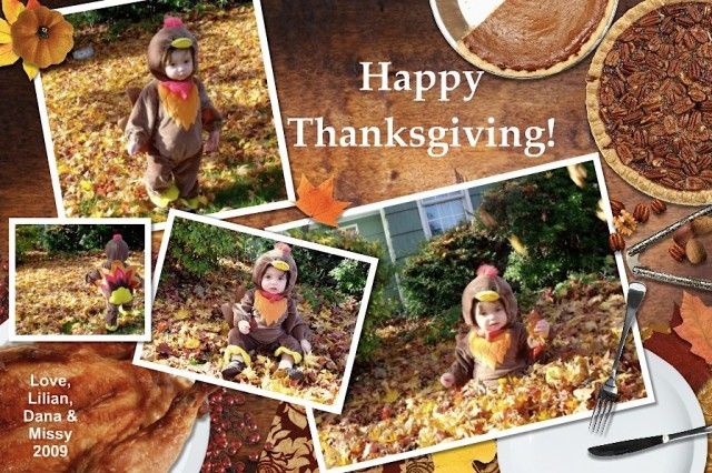 Happy Thanksgiving, 2009!
