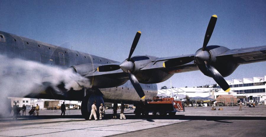Convair XC-99A 43-52436 26