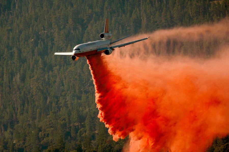 Piute fire 2008