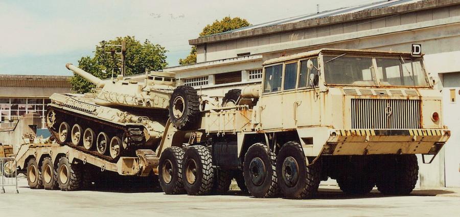 Berliet T12 1962 8x8