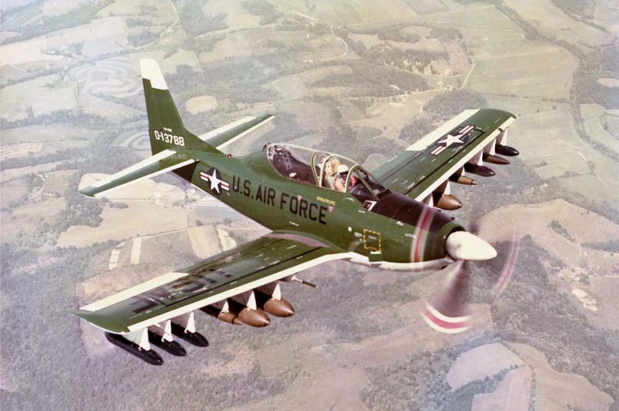 YAT-28E Trojan 51-3788