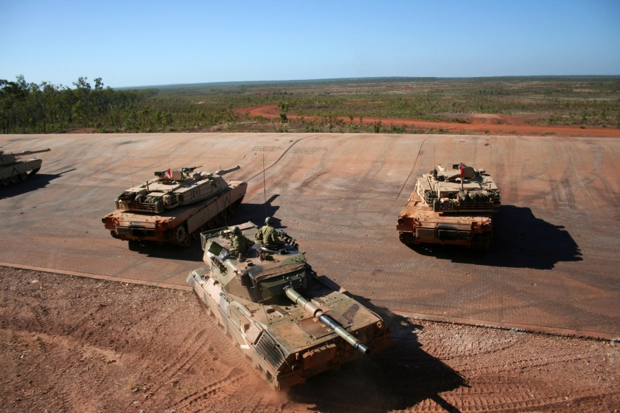 M1a1 and Leopard AS1