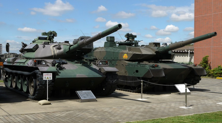 Japanese_Type10_and_Type74_Tanks