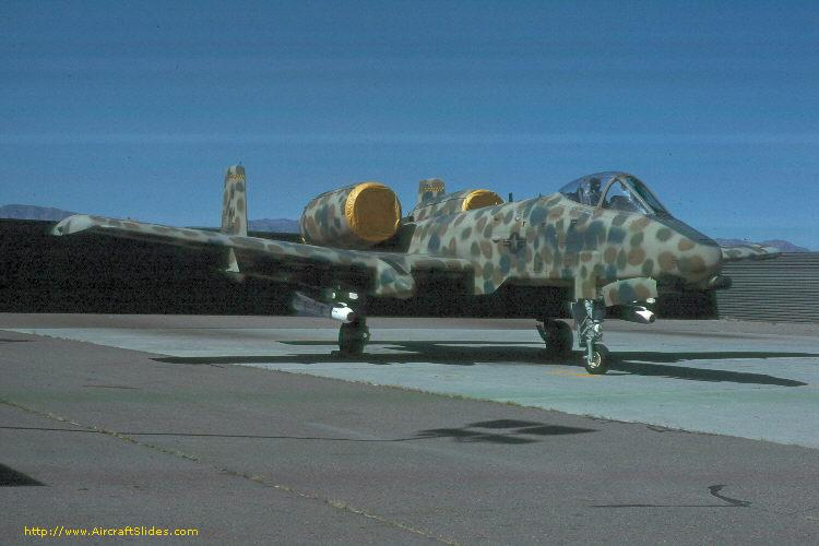 258 A-10A 258 WA SPECIAL MARKED 22 APRIL 1978