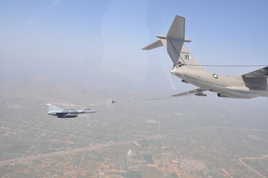 Pakistan Air Force Receives 3rd Il-78P Midas Multi-Role Tanker Transport Aircraft (2)Mirage-III Rose-I