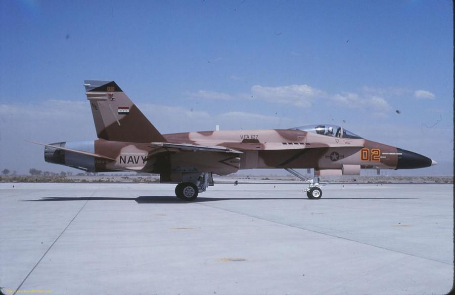 02 162416 USN F-18A VFA-127