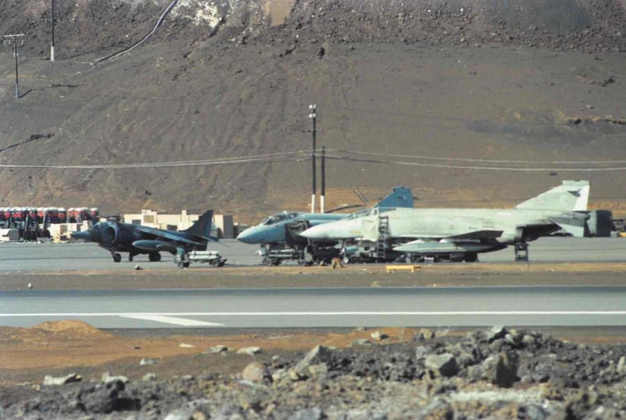 Colour - Harrier & Phantoms
