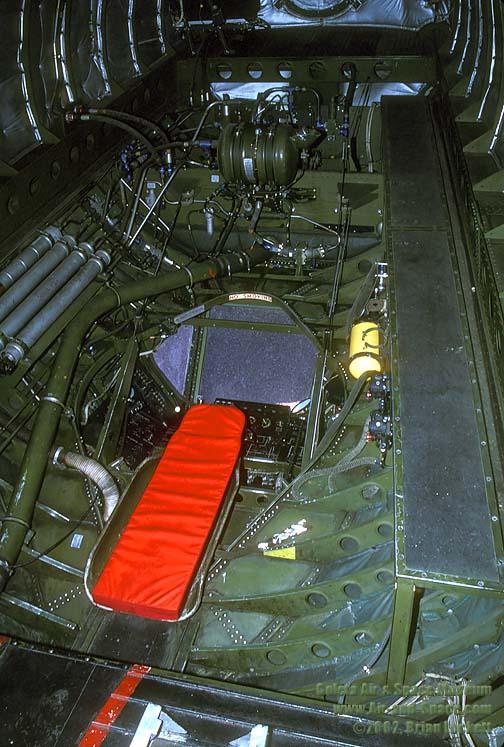3 03 KC-97L 53-0354 interior aft l
