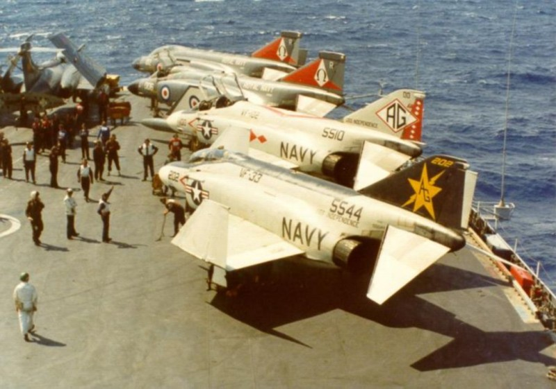 USN F4_S from Independence in Ark fly 1