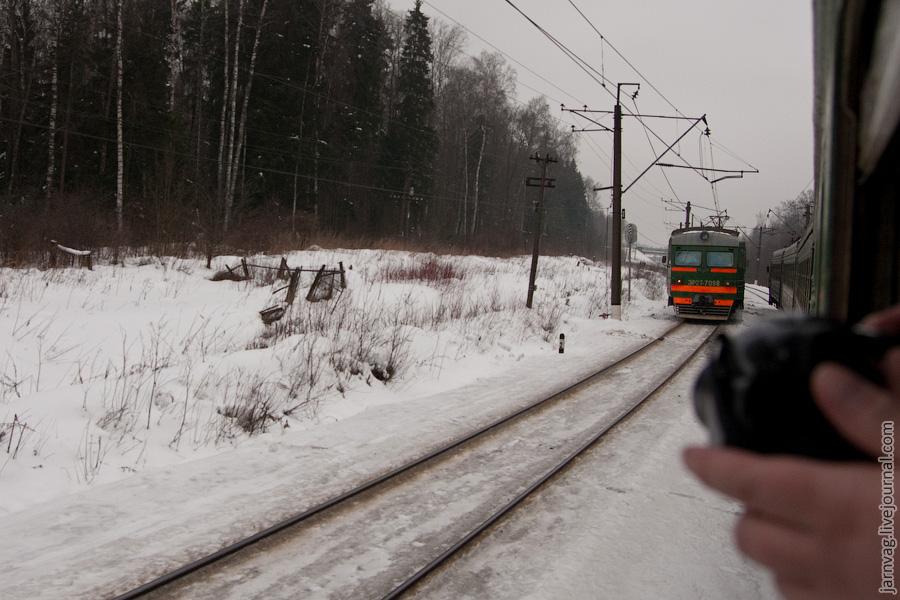 Фотоохота за электропоездом, БМО, 2009 год