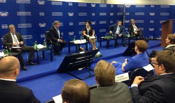 Елена Николаева провела панельную дискуссию «Комплексное развитие территорий – стратегия развития регионов» на Форуме «Сочи – 2013»
