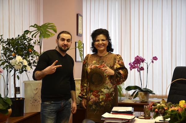 Елена Николаева и Эдвард Хачарян