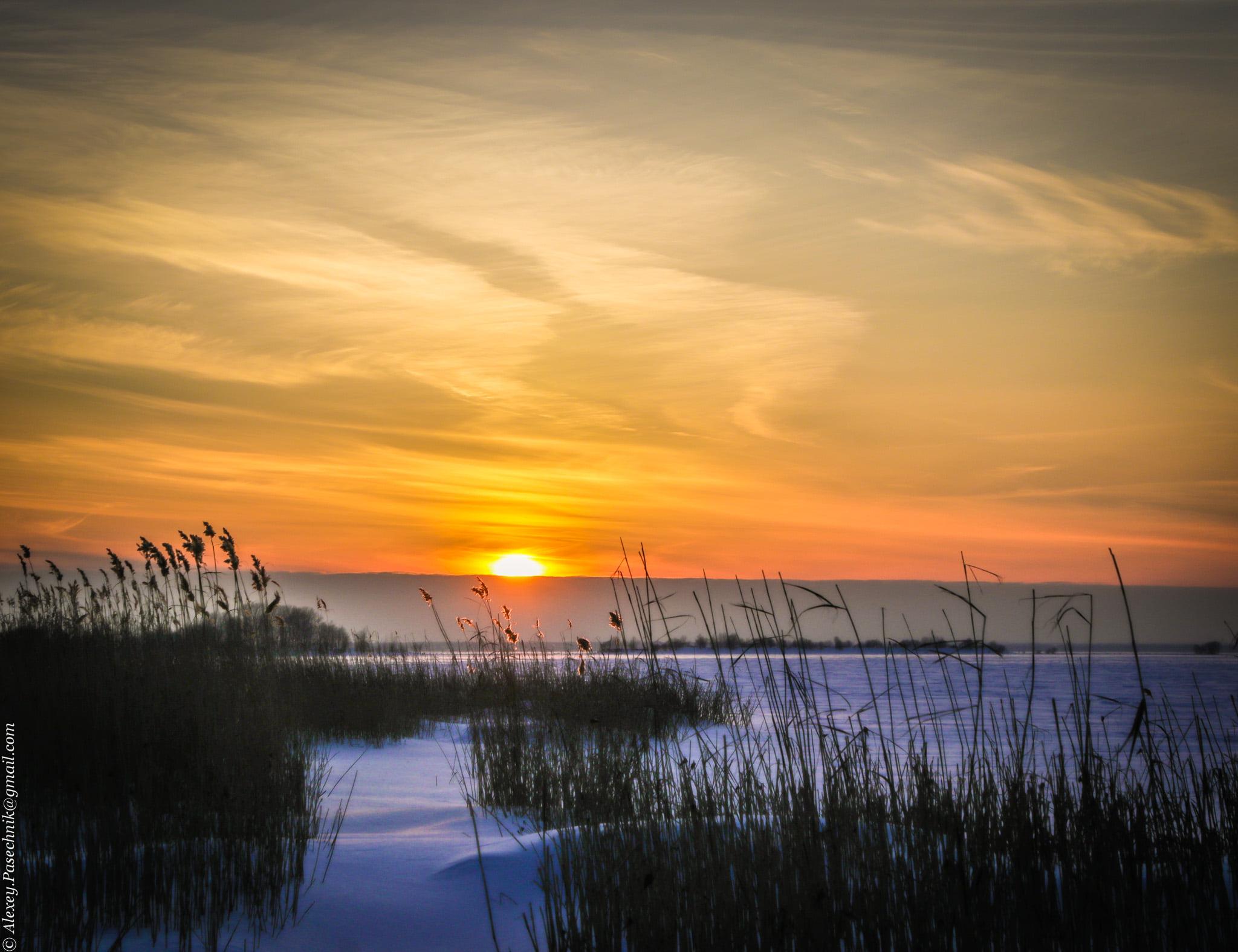 Канонерский остров. Финский залив. 22 февраля 2021 года.