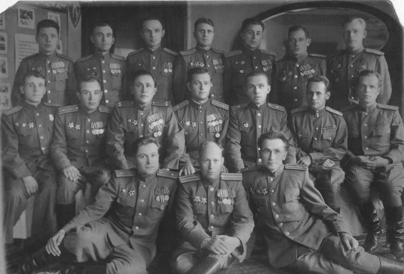 Таманцы в 1945