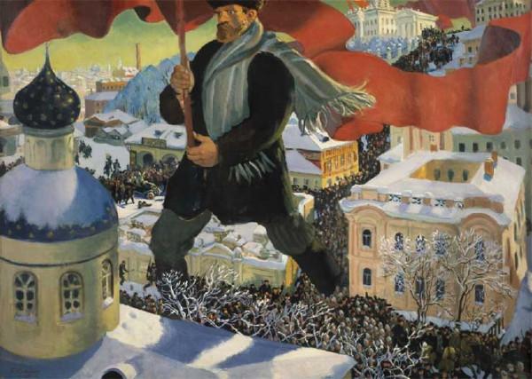 Кустодиев Большевик