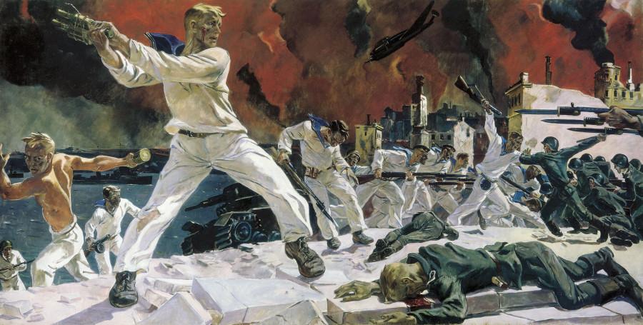 Дейнека Оборона Севастополя 1942
