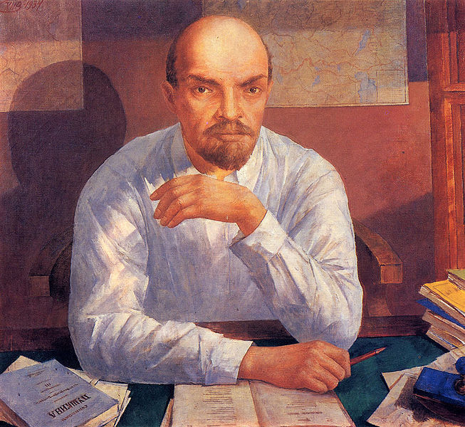 Петров-Водкин Ленин
