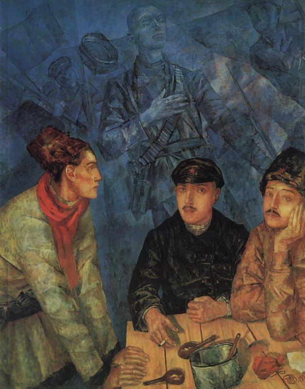 После боя Петров-Водкин