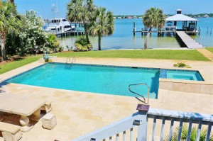 Ono Island Waterfront House For Sale, Orange Beach