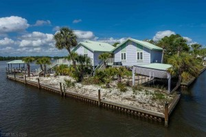Gulf Shores Waterfront House For Sale