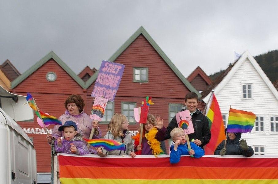 Детский гей парад