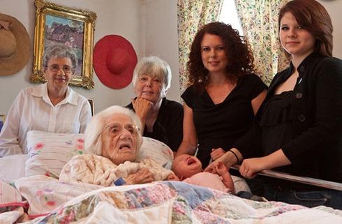 Встреча 6 поколений