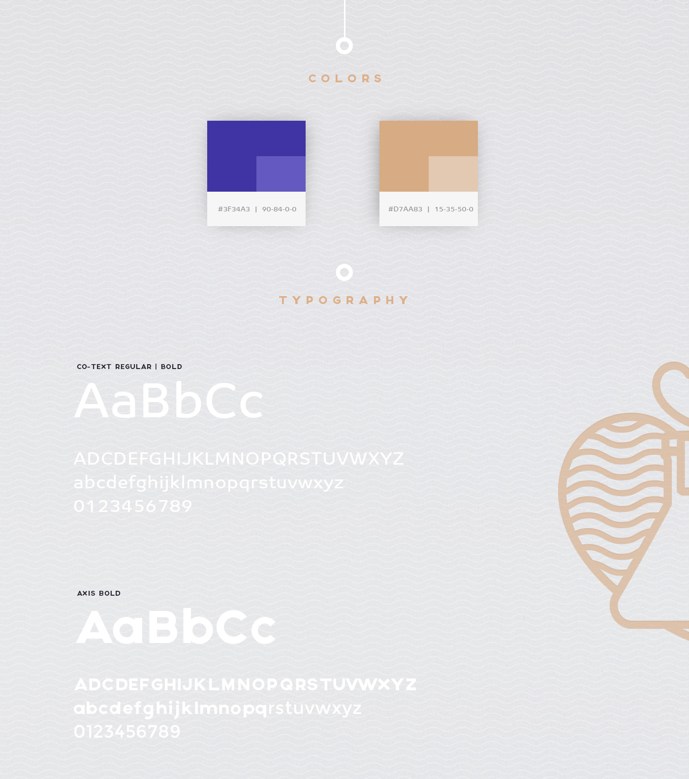 Colors and typography