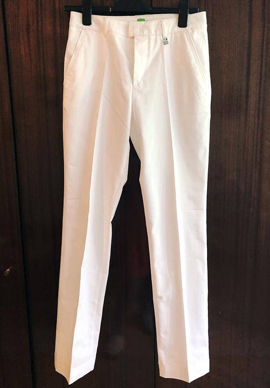 Белые штаны Hugo Boss
