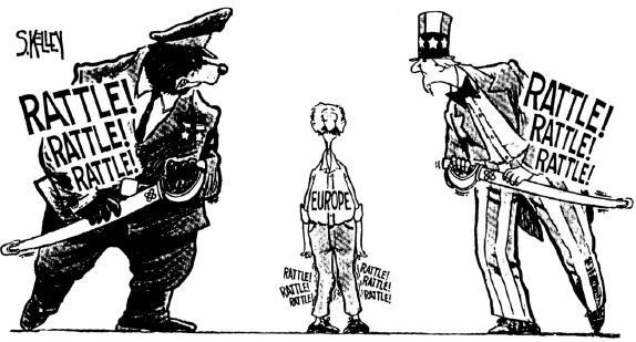 Холодная война 70-е, 80-е