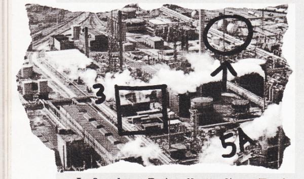Съемка со спутника-шпиона в 80-е годы