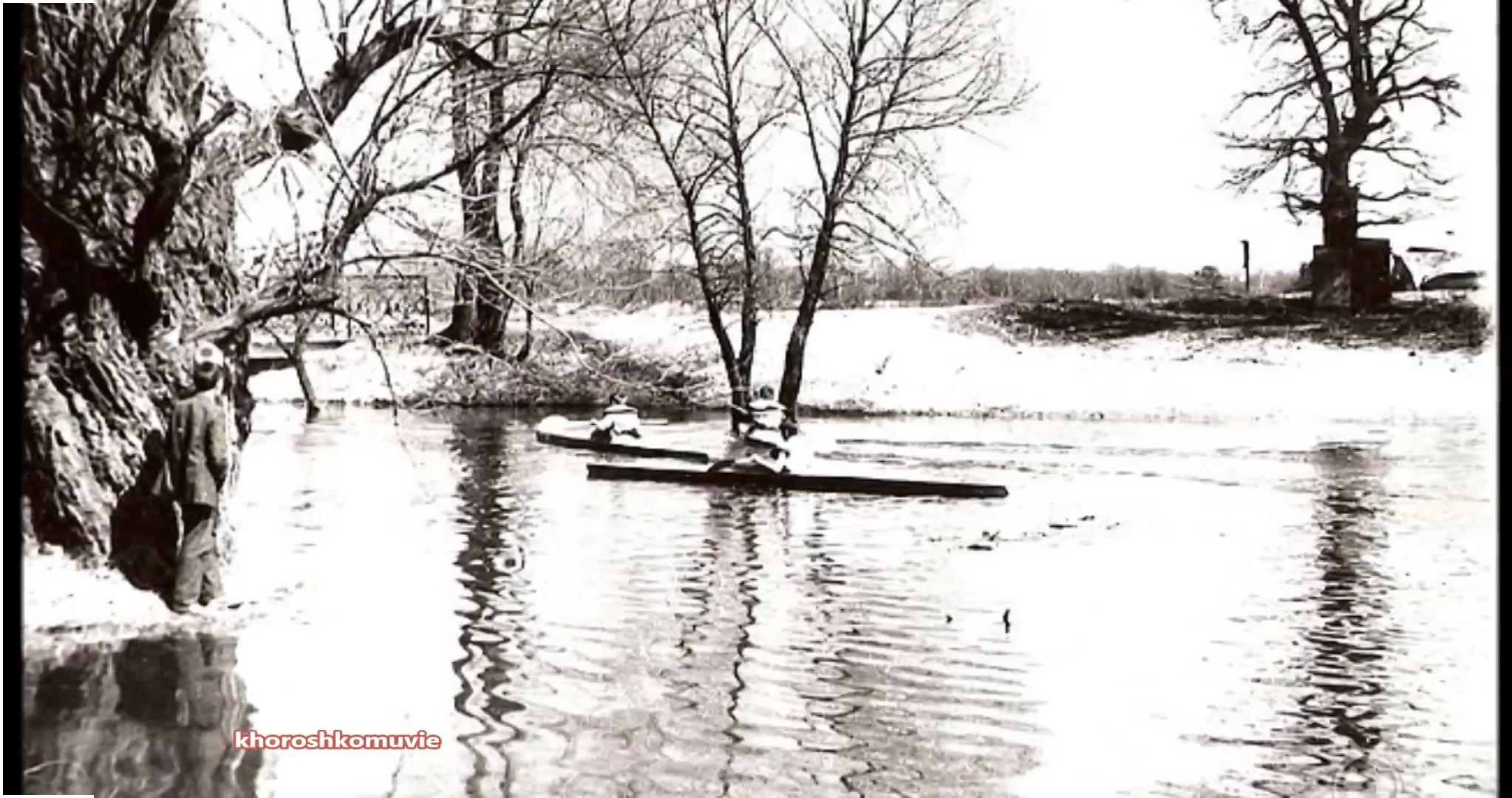 мост разлив