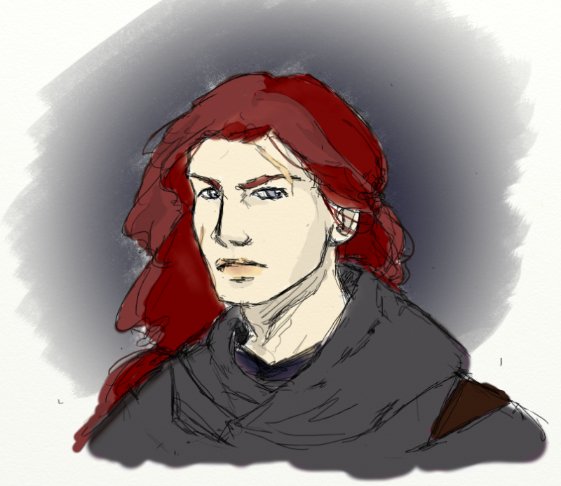 """There Maedhros in time was healed; for the fire of life was hot within him, and his strength was of the ancient world, such as those possessed who were nurtured in Valinor. His body recovered from his torment and became hale, but the shadow of his pain was in his heart; and he lived to wield his sword with left hand more deadly than his right had been."" -Of the Return of the Noldor"