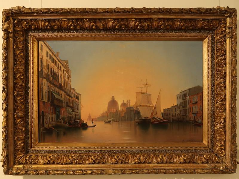 Мордвинов А.Н. Утро в Венеции. Холст, масло.