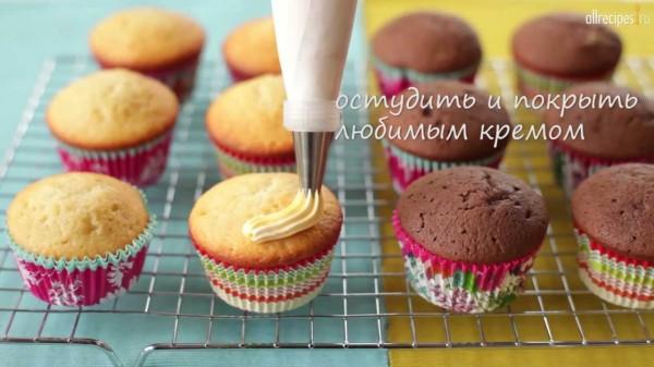 Кексы капкейки маффины рецепты с фото